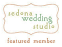 Sedona Wedding Studio Featured Member - By invitation only, the Sedona Wedding Studio represents some of Arizona's finest wedding vendors.